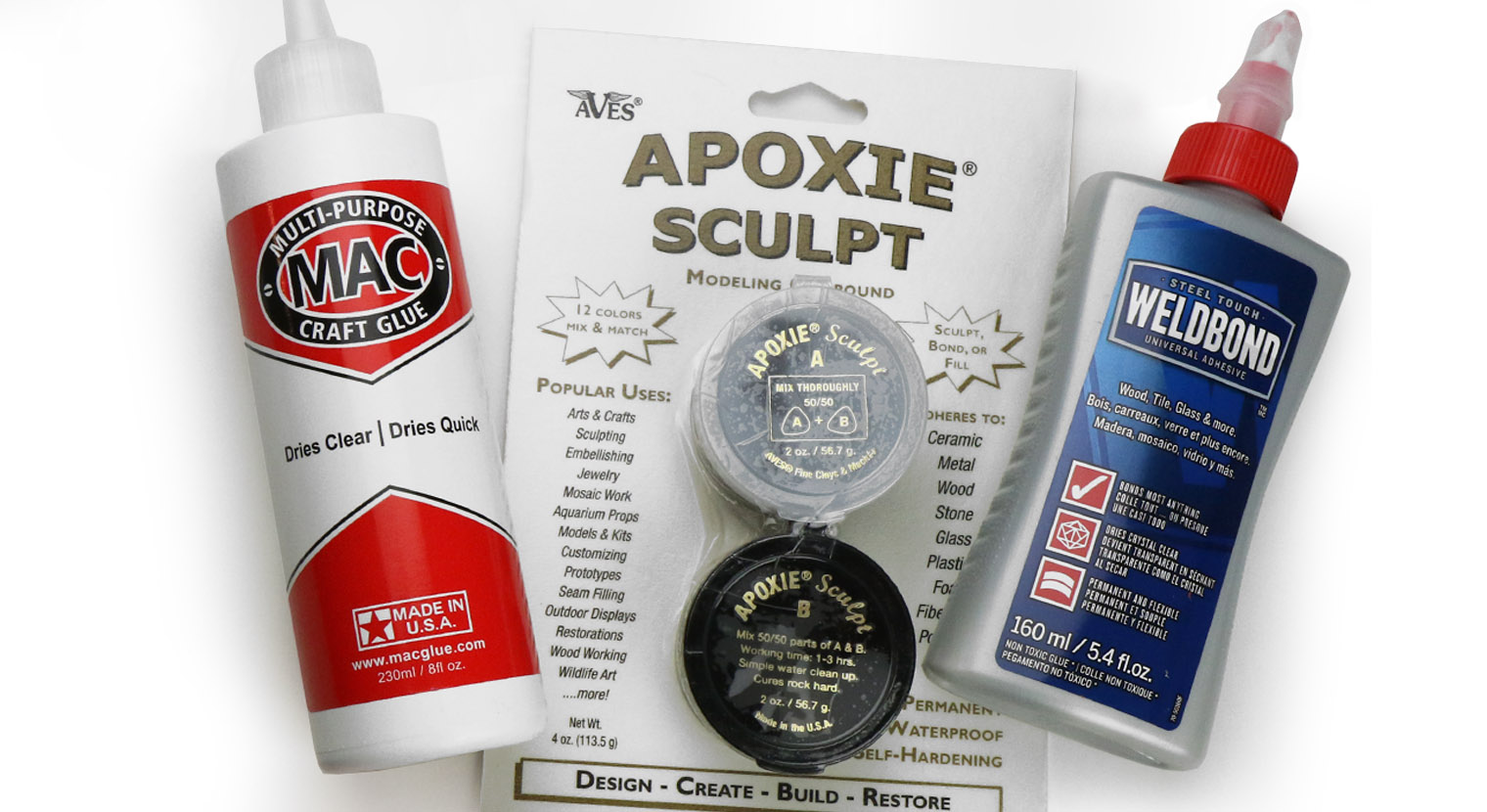 Mosaic Adhesives & Colorants
